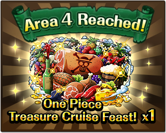 Area 4 Reached!One Piece Treasure Cruise Feast! x1